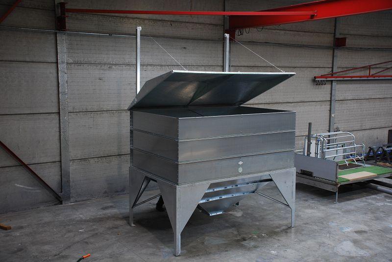 Mse tr mie pour chargement godet stockage grains aliments for Stockage granules de bois